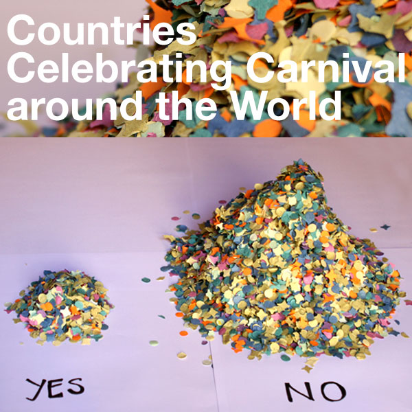 Countries Celebrating Carnival Around the World